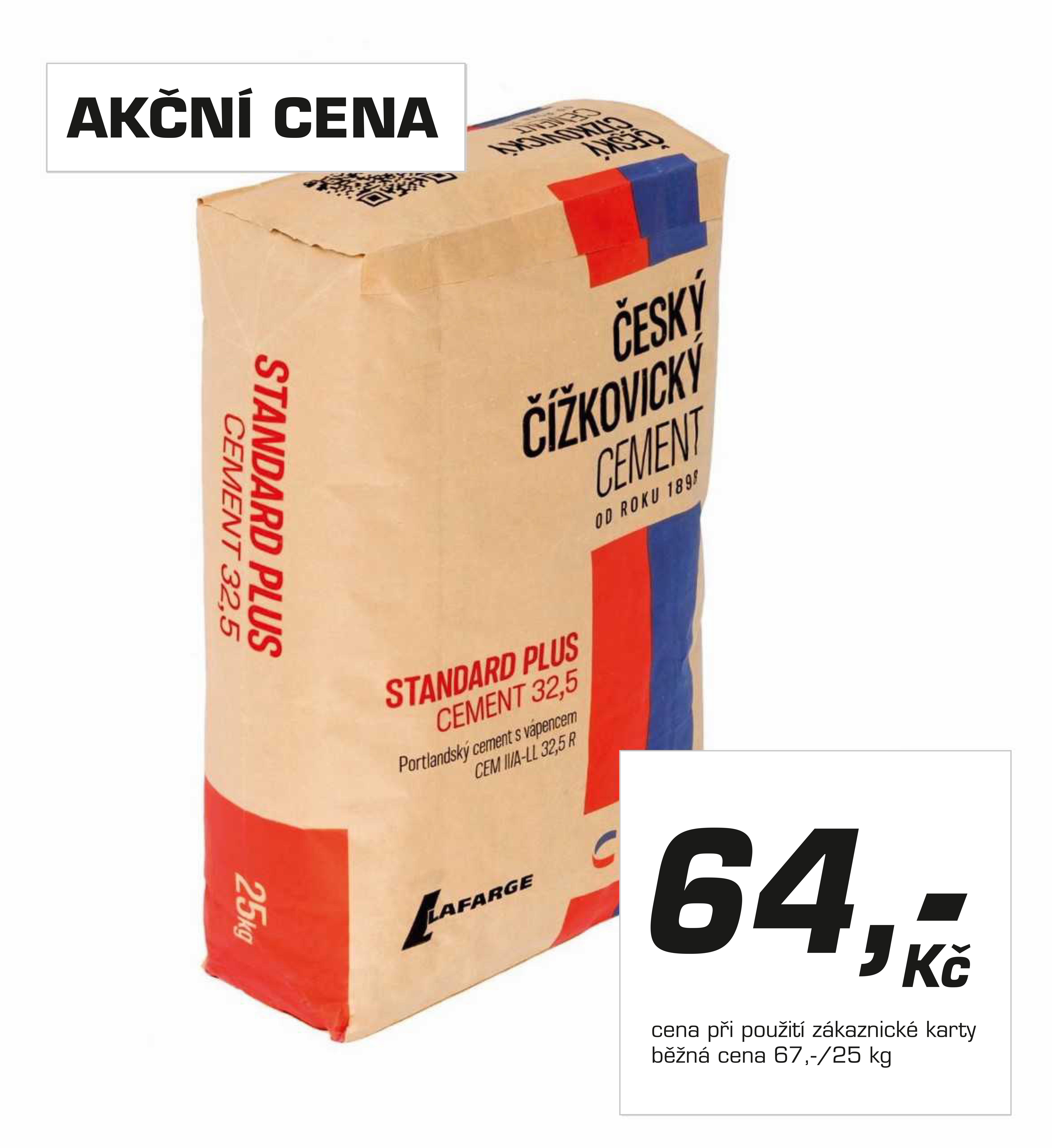 S KÁBÍČKEM klesají ceny cementu