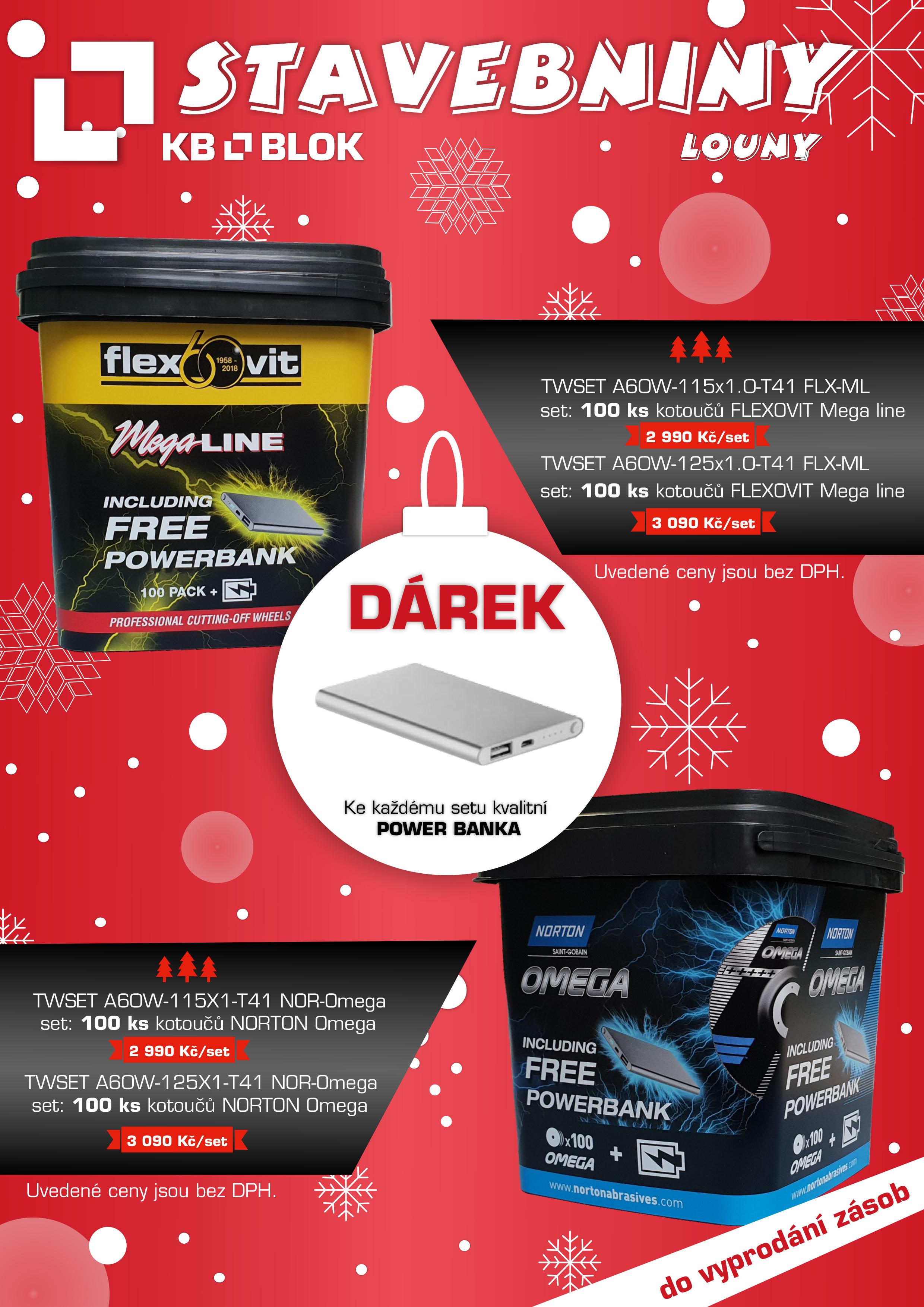 Vánoční nabídka do vyprodání zásob