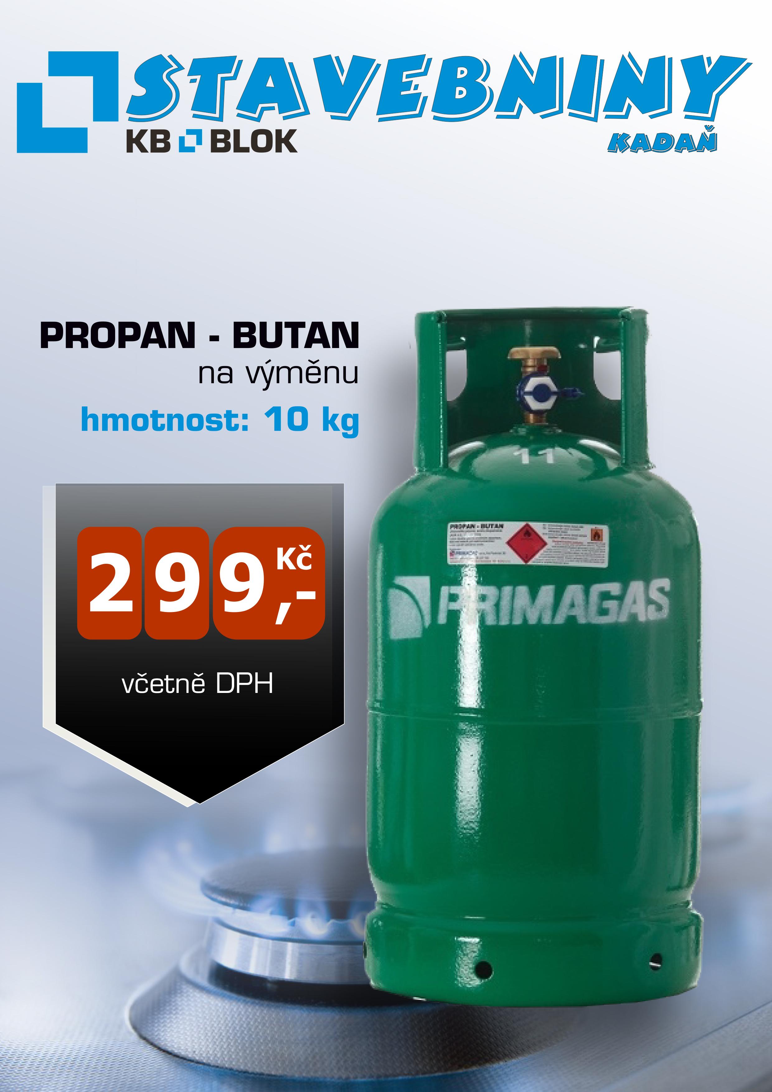 Akce na PROPAN-BUTAN