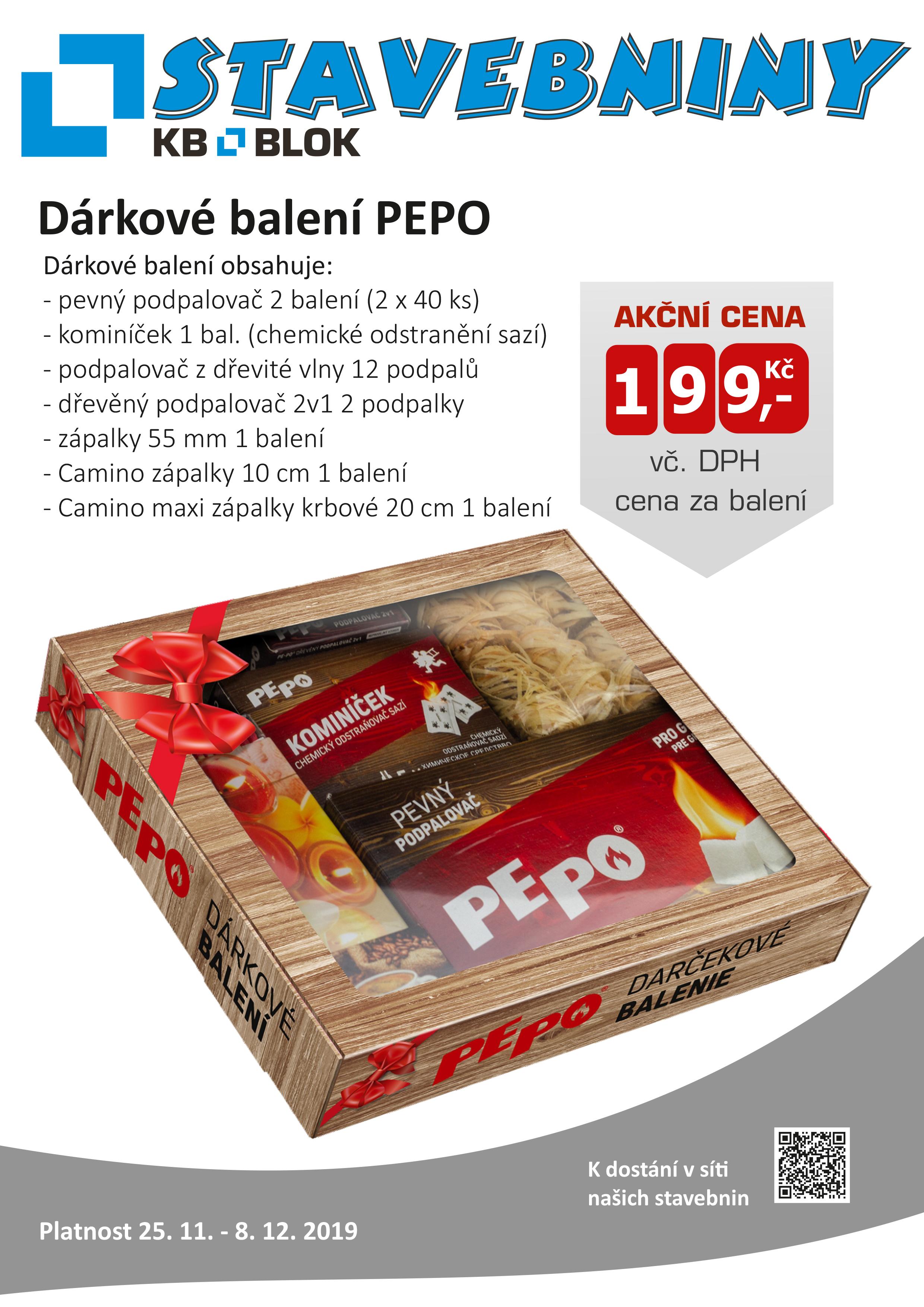 Dárkové balení PEPO